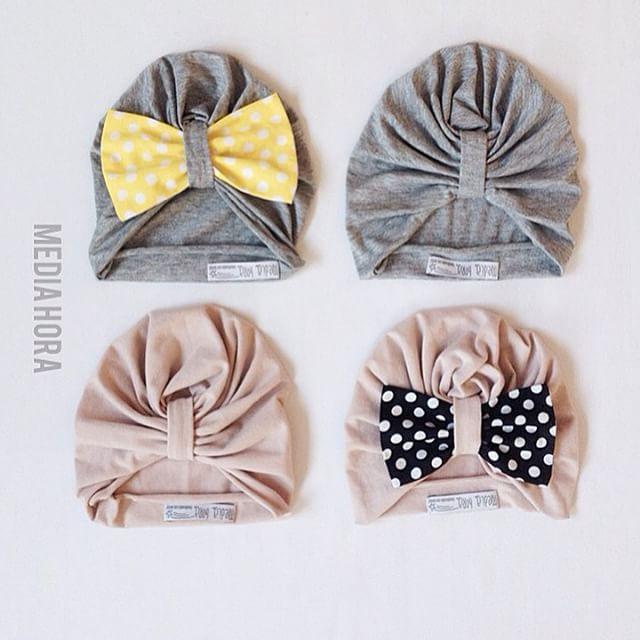 Instagram - Buenos Dias! Cuffiette turbante primaverili con o senza fiocco🎀🎀❤️