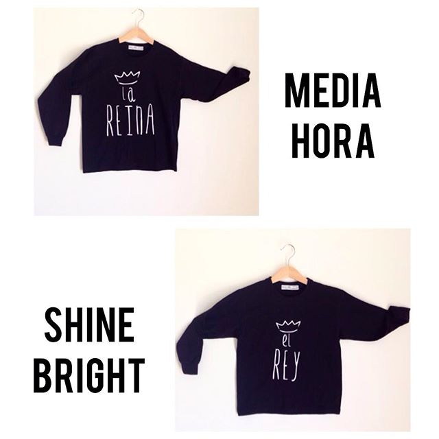Instagram - Per i nostri RE e REGINE 👑👑🔝🔝 Shirt manica lunga in cotone #medi