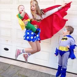 Instagram - Let's fly!💪 #carnevale#love#myboys#heroes#supereroi#batman#robin#wo