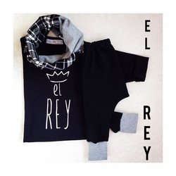 Instagram - LOVE BLACK ⚫️⚫️⚫️ #elrey #mediahorakids #mediahora #instalike #insta