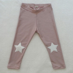 leggins rosa star