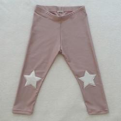 leggins rosa star