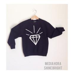 Instagram - SHINE BRIGHT LIkE A DIAMOND💎💎⚫️🔝 #mediahora #mediahorakids #shine