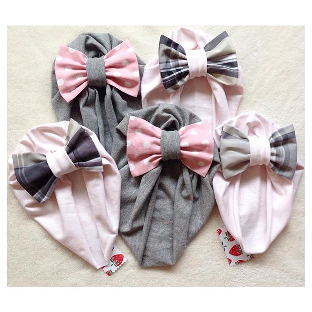 Instagram - P I N K 💖🎀👑 Turbanti per @shortpeople_ pronti per partire...jpg