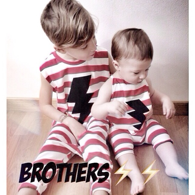 Instagram - ⚡️⚡️SUPER Brothers are forever⚡️⚡️ #news #modabambini #mediahorakids