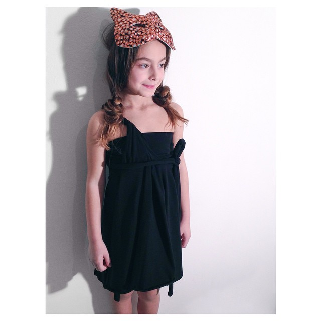 Instagram - LOVE DRESS short&Black🔳🔲 #mediahorakids #mediahorakids #mediahora