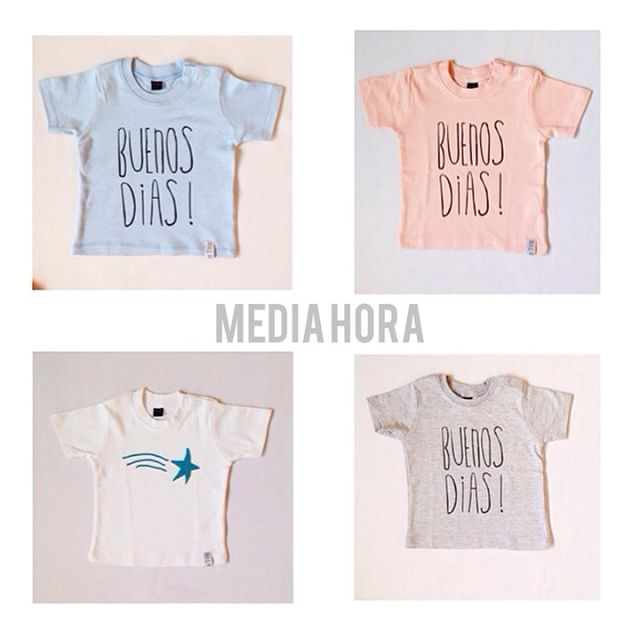 Instagram - ⭐️⭐️⭐!⭐️⭐️⭐️⭐️⭐️tshirts #mediahora#mediahorakids#tshirts#summer#spri