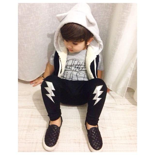 Instagram - NICHO⚡️⚡️ #mediahora#mediahorakids#leggins#fulmini#bambini#kids#womo