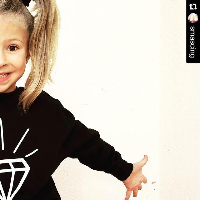 Instagram - Half diamonds😜💎🔝☑️ @smascing adoro questa foto! #mediahorakids #m