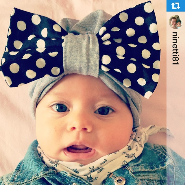 Instagram - #Repost @ninetti81  #turban #turbante #fiocco #mediahorakids #mediah