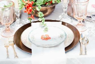 Dirty Dishes Wedding Setting