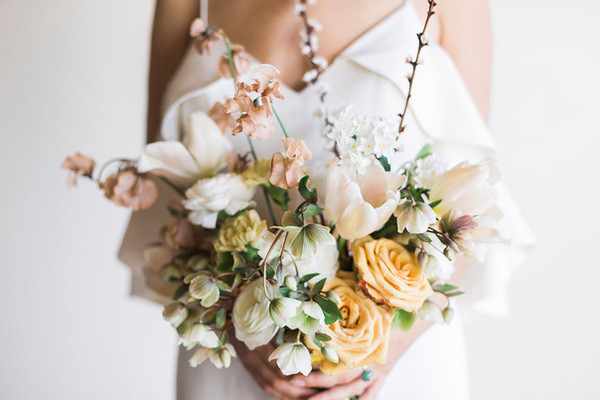 Lucky Malone shot of Linnaea Design bouquet