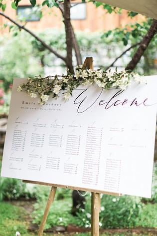 Wedding Escort Idea