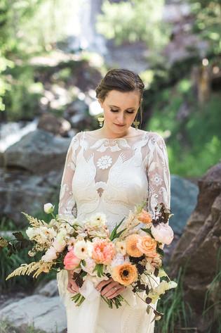 Colorado Summer Wedding Bouquet