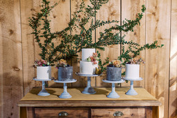 Fig and Bloom Wedding Cakes