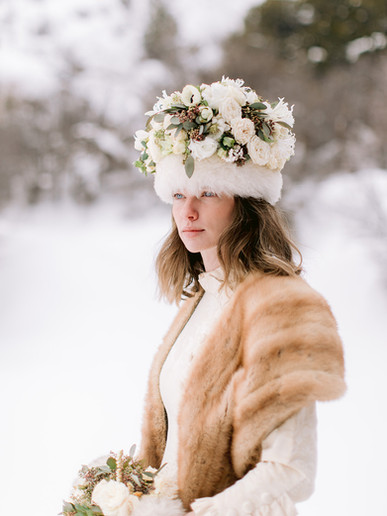 Floral Couture Headpiece