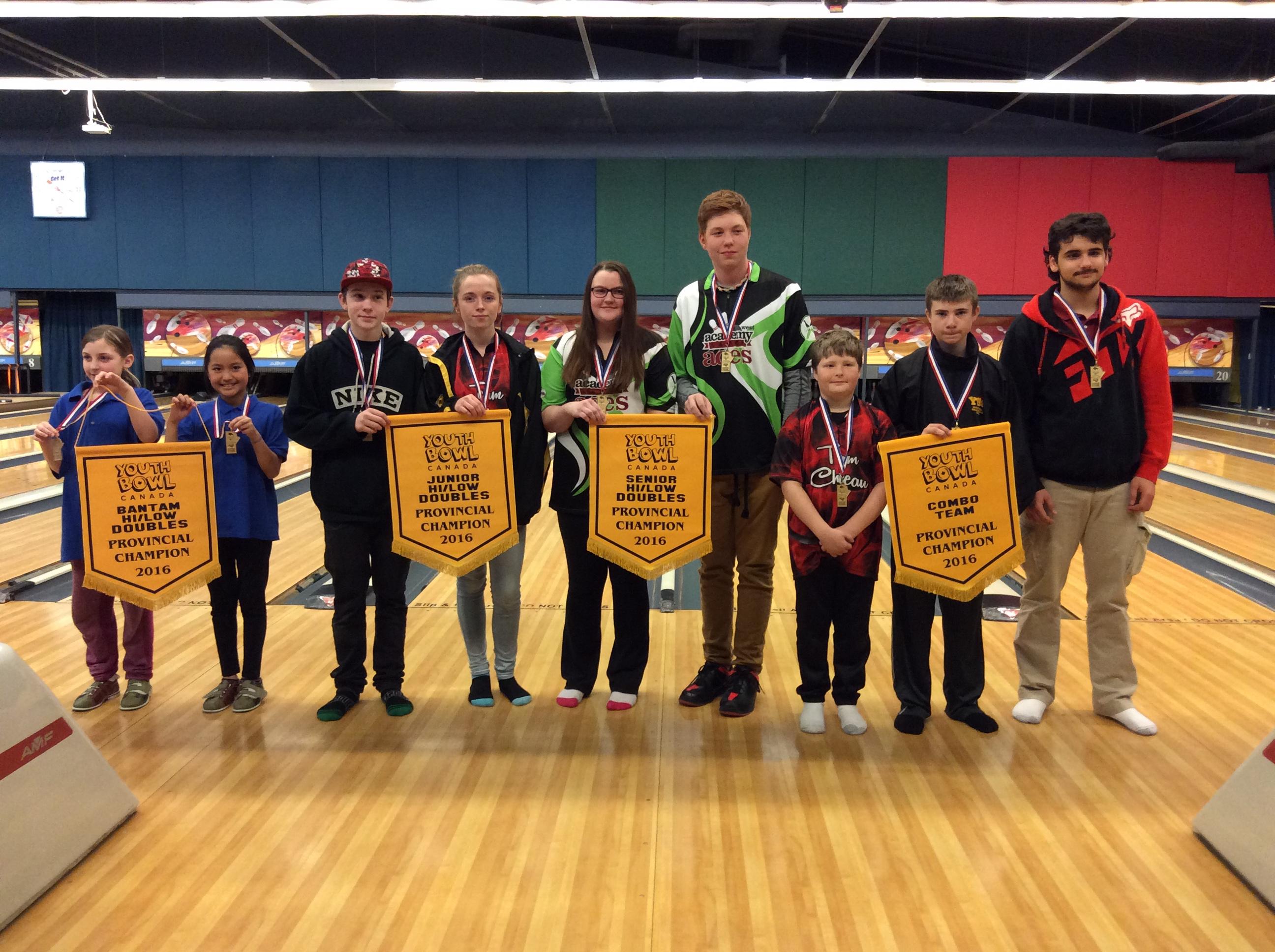 Ten Pin Team Winners