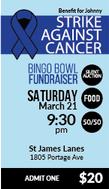 Bingo Bowl Fundraiser