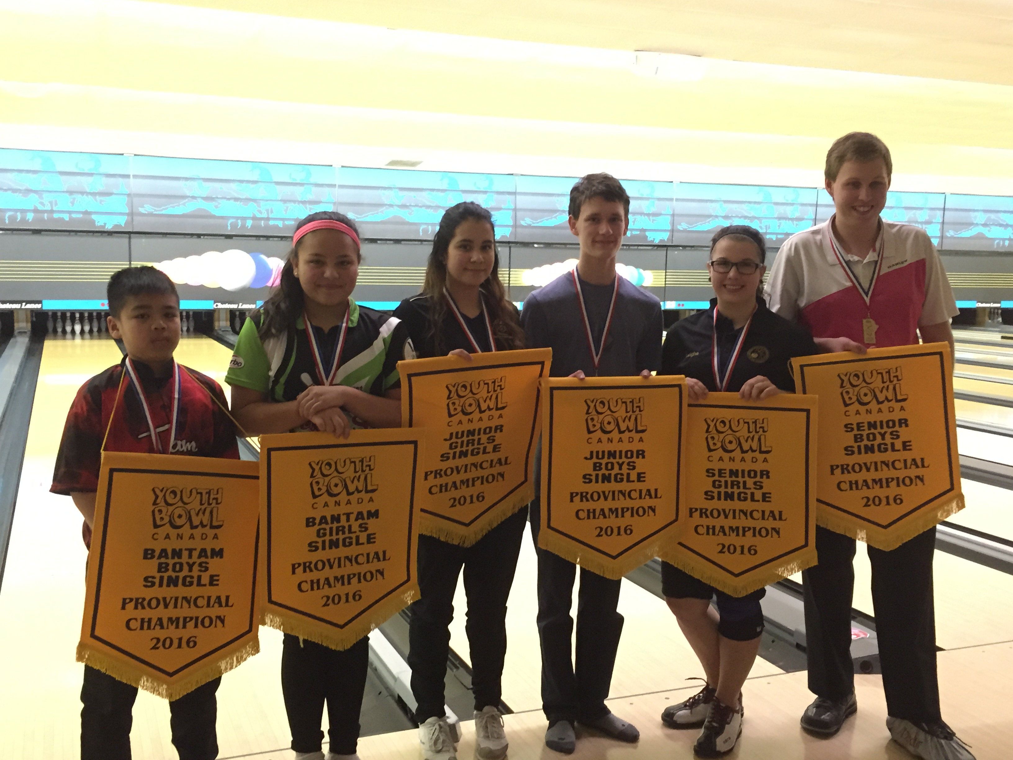 Ten Pin Single Winners