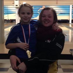 Bantam Girl Gold Medalist