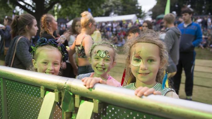 Kids Fun at Rock and Bowl Festival Shrop