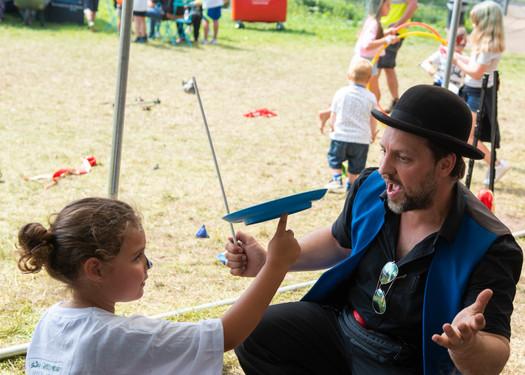 Circus Sensible at Kidz Zone - Rock and Bowl