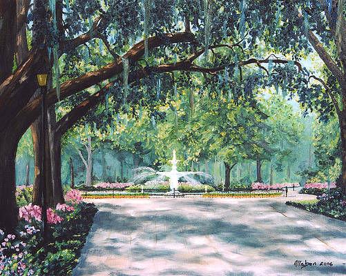Spring in Forsythe Park
