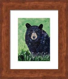 bear framed