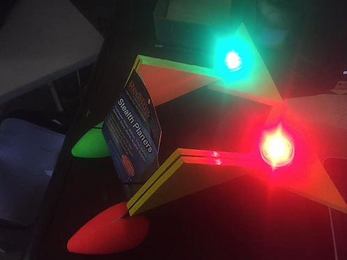 LED Lighted Large Stealth Planer FLoats™