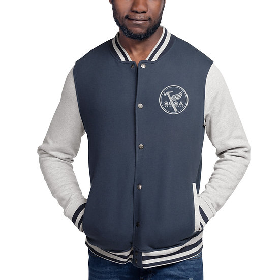 Sosa Logo Embroidered Champion Bomber Jacket