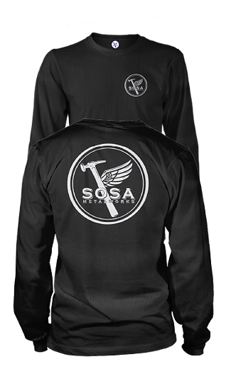 Mens Sosa OG Logo Long Sleeve Tee