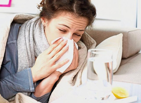 Don't let the sniffles, get you down. Chinese Herbal Medicine can knock out cold's, and flu&