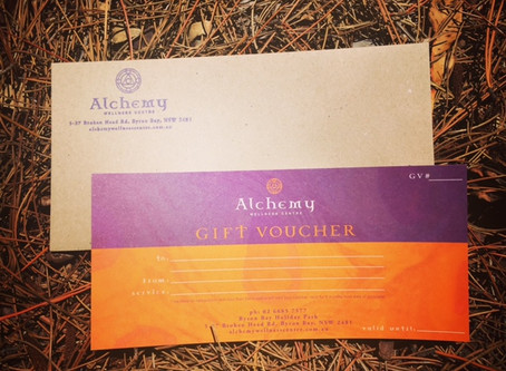 Gift Vouchers Available Now -  Give the gift of health and well-being!