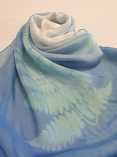 Hand-painted 100% Silk Scarf SC0100