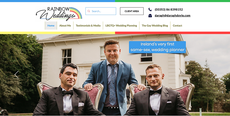 Rainbow Weddings Same-Sex Wedding Planni
