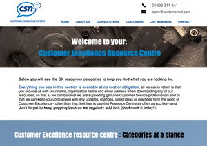 CSN Customer Excellence FREE Resource Centre