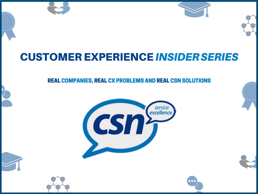 customer experience problems and solutions