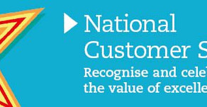 National Customer Service Week starts w/c 1st October 2018
