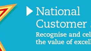 National Customer Service Week starts w/c 1st October 2018