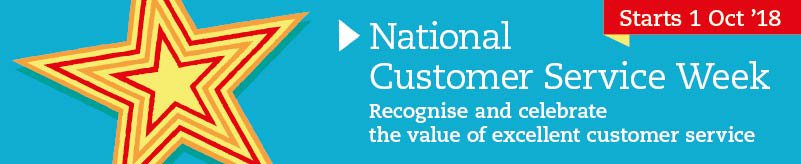 National Customer Service Week 2018