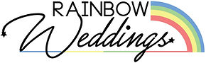 Rainbow Weddings Logo
