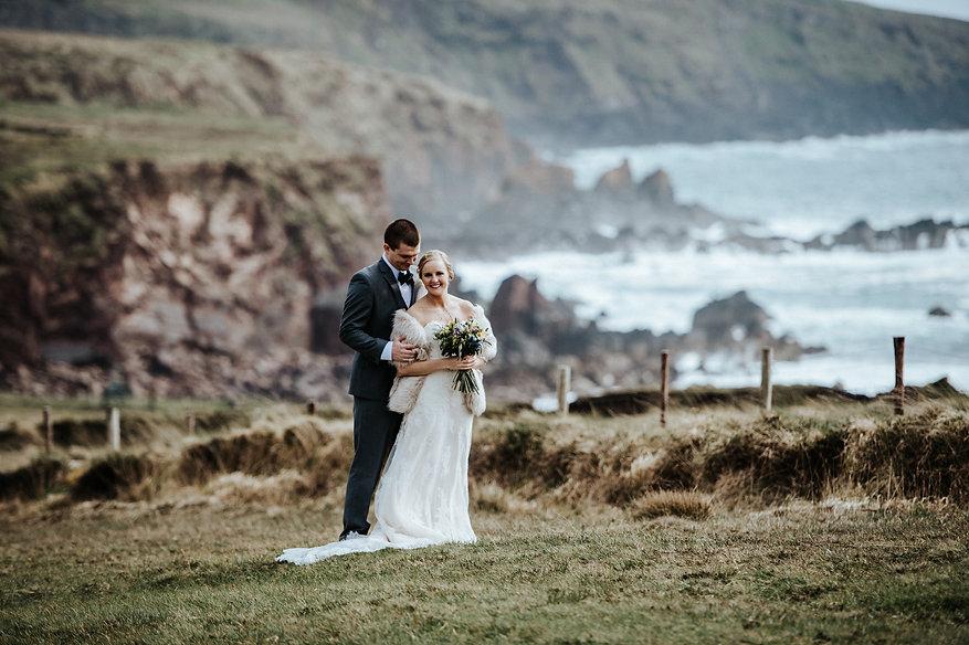 Wedding Planning by Daragh Doyle for Couple on Ireland's Atlantic Coast