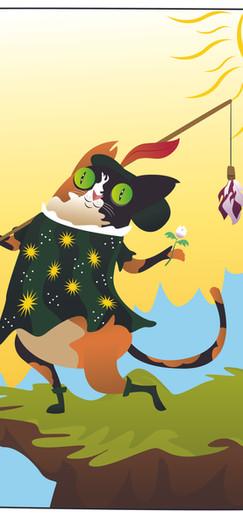 "Tarot Cats - ""The Fool"""