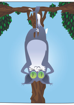 "Tarot Cats - ""The Hanged Cat"""