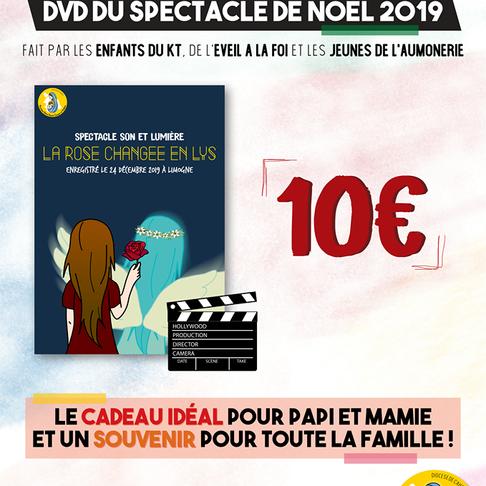 DVD DE LA VEILLEE ET DE LA MESSE DE NOËL