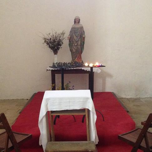 Les visiteurs sont venus nombreux honorés les saints de Saint Cirq Lapopie