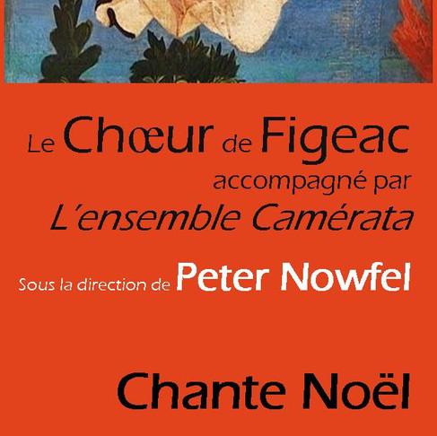 Samedi 16 décembre à 20h30 — Le Choeur de Figeac « Chante Noël »