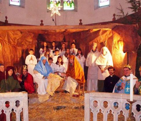 Saint Cirq Lapopie : spectacle de Noël