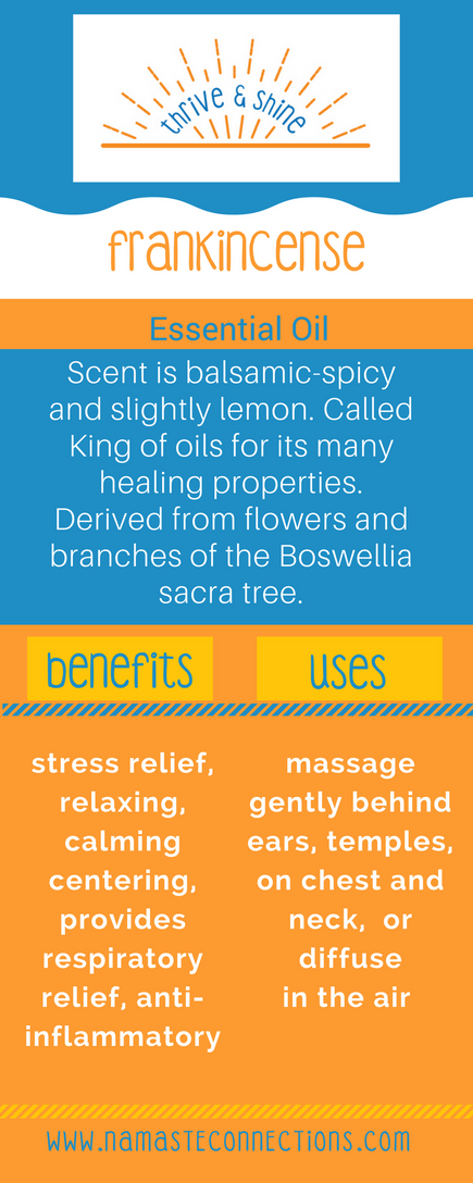 Frankincense - King of Oils