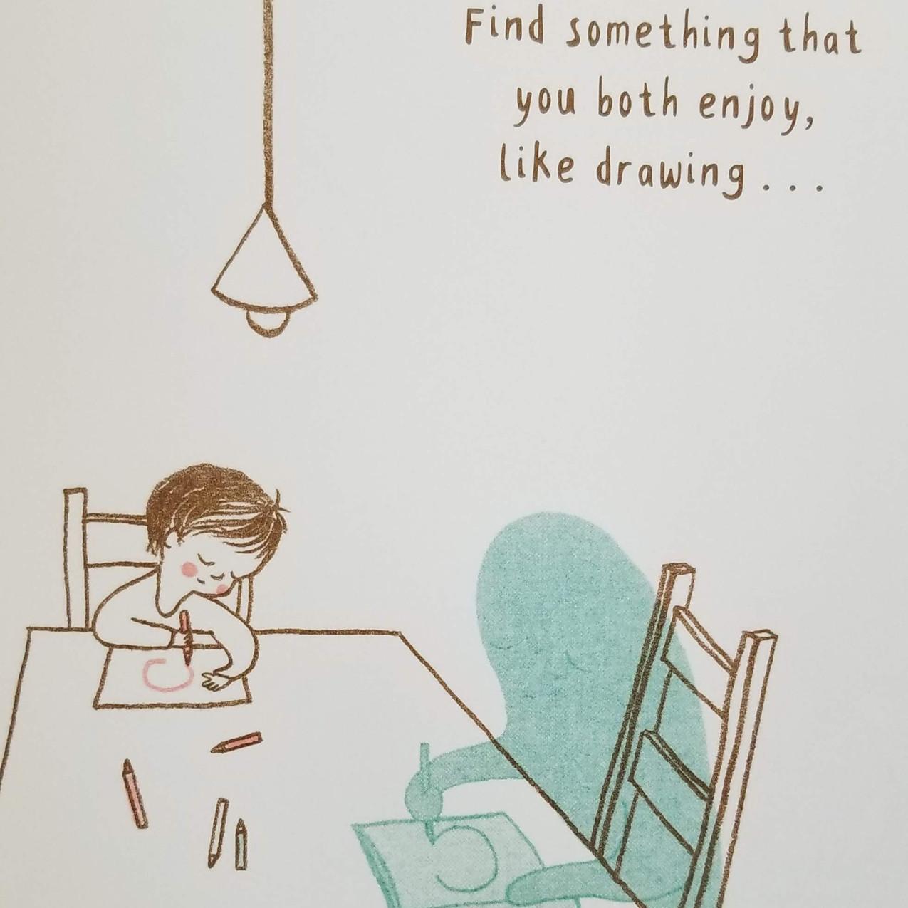 Do something together.